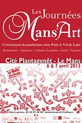 Les Journées Mans'Art 2013, festival magistral des métiers du patrimoine