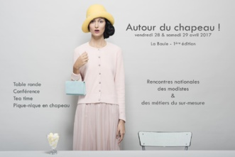 Autour du chapeau à La Baule 2017